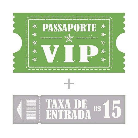 Passaporte Vip + Entrada Adulto