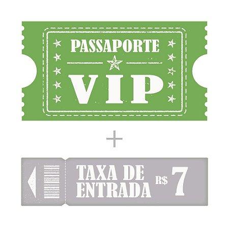 Passaporte Vip + Entrada Criança até 10 anos e idoso Acima de 60 anos