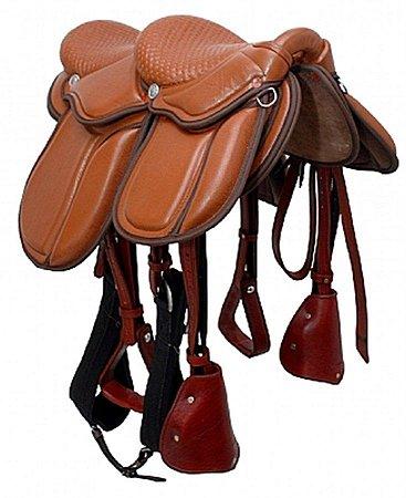 Sela para cavalgada Dupla - Completa