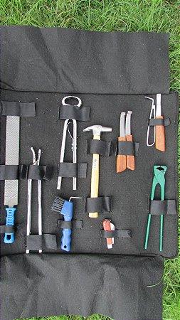 Kit de Casqueamento e Ferrageamento Profissional - Completo