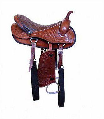 Sela Americana para cavalgada Luxo - Completa