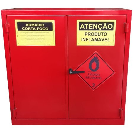 Armário Corta-Fogo GSI para Inflamáveis 1 Metro