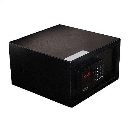 Cofre Eletrônico Office Black com Auditoria - Cofres Gold Safe