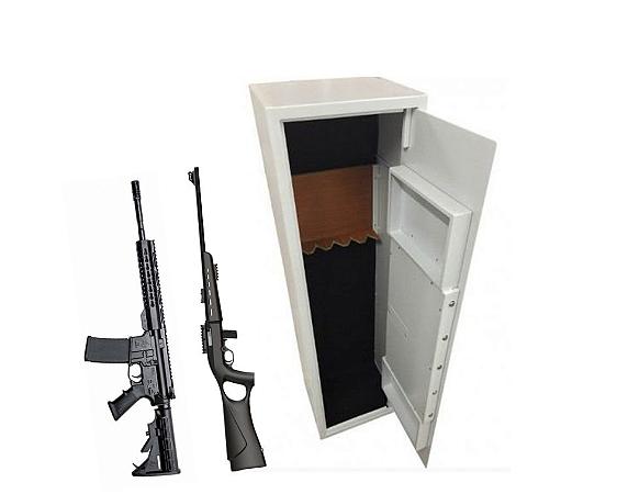 Cofre para Armas e Munições Safe Gun 1.45m c/ Auditoria Gold Safe aprovado pelo Exército