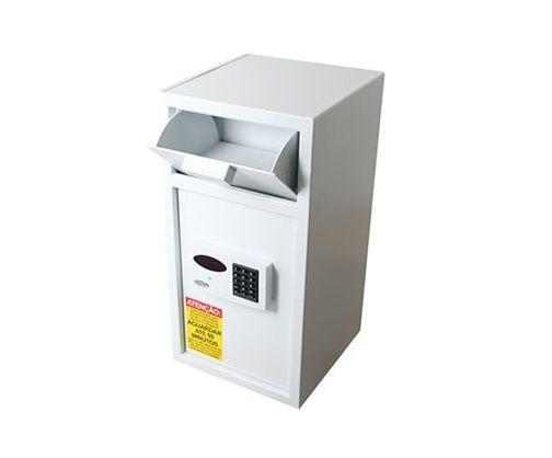 Cofre Eletronico com Boca de Lobo e Fechadura de Retardo - Smart Store Security 6800