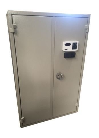Cofre Base Concretada para Armas AC 90 com Fechadura Eletrônica