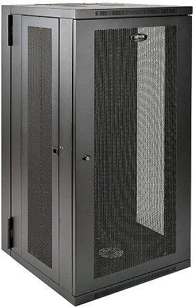 Rack Piso Fechado 20U Porta e Laterais Perfuradas