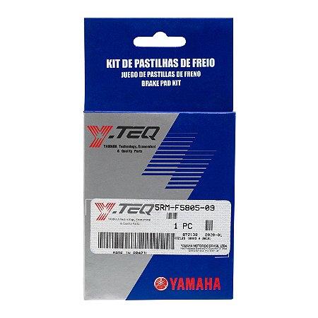 KIT PASTILHA DE FREIO DIANTEIRO (Y-TEQ) XTZ 125