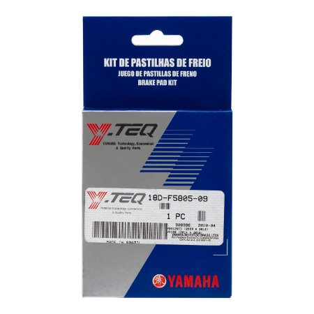 KIT PASTILHA DE FREIO (Y-TEQ) YBR125 FACTOR