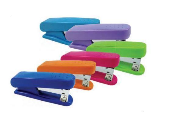 Grampeador Neon 26/6 12,6cm - Kit UN