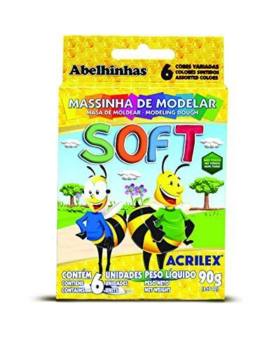 Massinha Soft Conjunto Acrilex