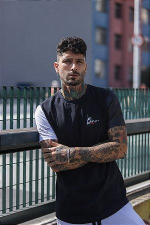Camiseta Long Brothers Satin Sleeve