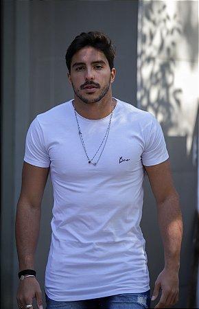 Camiseta Basic Signature Premium White