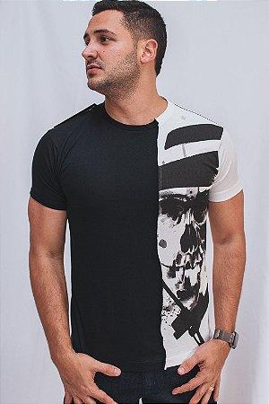 Camiseta Brothers Metade Caveira
