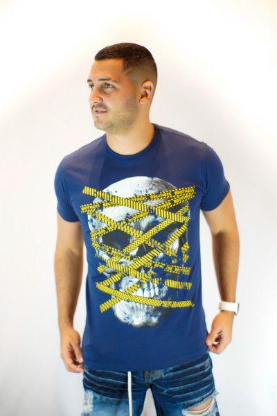 Camiseta Brothers Caution Stripes