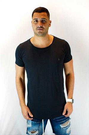 Camiseta Basica Long Preta