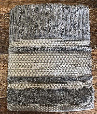 Toalha de Rosto 100% algodão Princess Gris