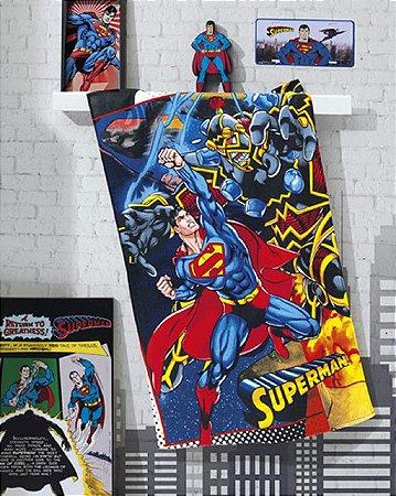 Toalha de Banho Felpuda Superman - Dohler