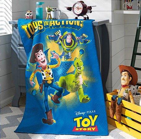 Toalha de Banho Felpuda 70 x 115cm Toy Story