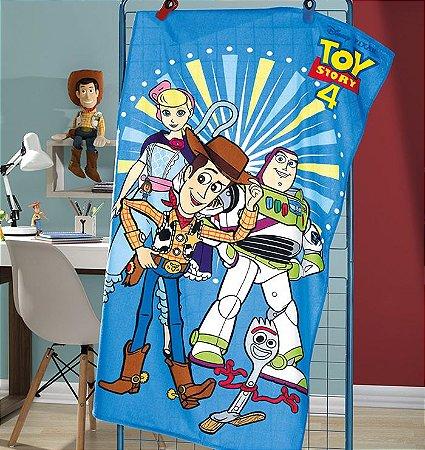 Toalha de Praia Aveludada 70 x 130cm Toy Story