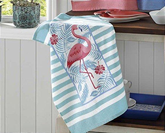 Pano de Copa Estampado Dohler Flamingo