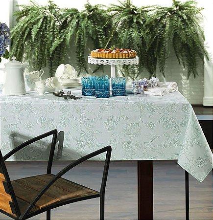 Toalha de Mesa Retangular 1,60m x 2,70m para mesa de 8 lugares - Sempre Limpa Harper - Karsten