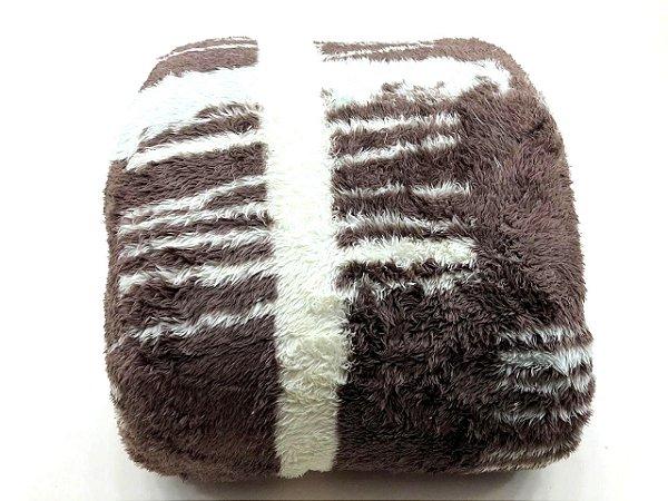 Cobertor Casal 1,80m x 2,20m Mont Blanc Rozac Pelo Alto Otto