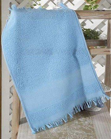 Toalha Lavabo Felpudo para Bordar Capri II Azul - Dohler