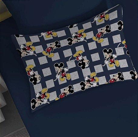 Fronha avulsa 1 peça de Malha Disney Mickey Mescla