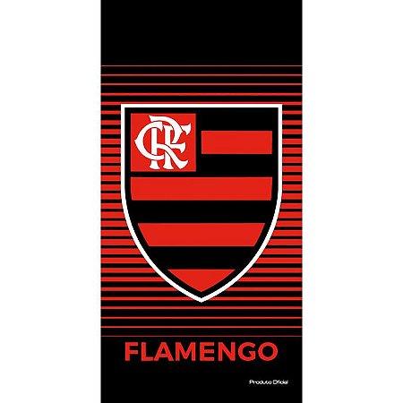Toalha Veludo Time Flamengo Buettner