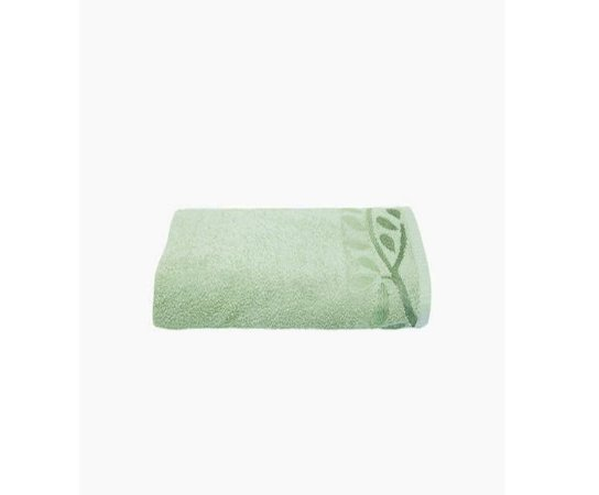 Toalha de Rosto Fio Penteado Artex Gramado Verde