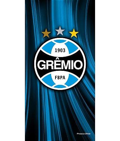 Toalha de Time de Futebol Aveludada Buettner Grêmio