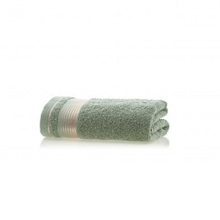 Toalha de Rosto avulsa 1 peça 100% algodão Quasar Verde Edem