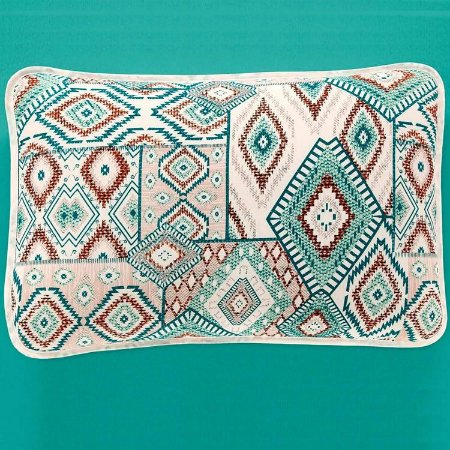 Jogo de Cama Queen 3 peças de Malha 100% algodão lençol com elástico e fronhas Vivaldi Turim