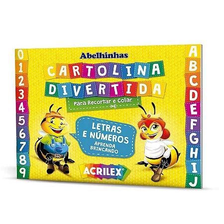 Cartolina divertida Acrilex