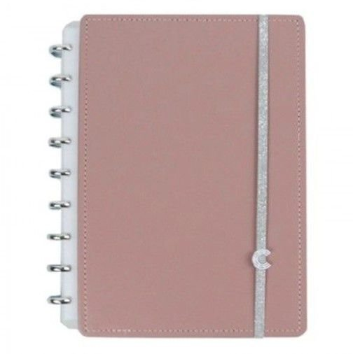 Caderno Inteligente Chic Nude Medio