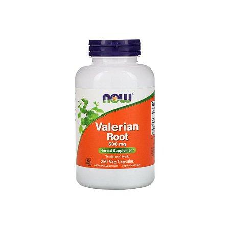 Valerian Root Raiz de Valeriana 500mg 250 Cápsulas Veganas - NOW