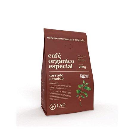 Café Orgânico Especial Torrado e Moído 250g - IAO