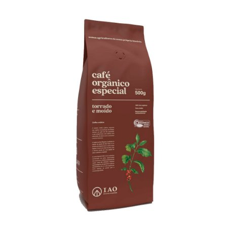 Café Orgânico Especial Torrado e Moído 500g- IAO