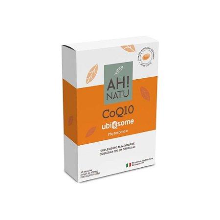 Coenzima Q10 Ubiqsome Phytosome®  30 Cápsulas - Ah! Natu