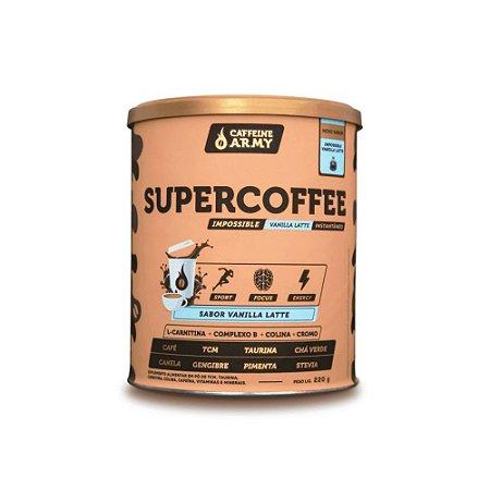 SuperCoffee IMPOSSIBLE VANILLA LATTE 220g - Caffeine Army