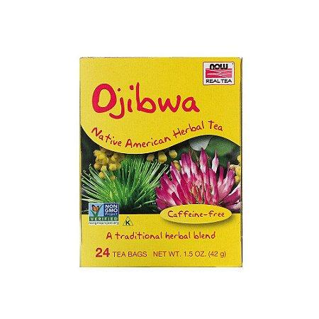 Chá Ojibwa 24 sachês - Now Real Tea