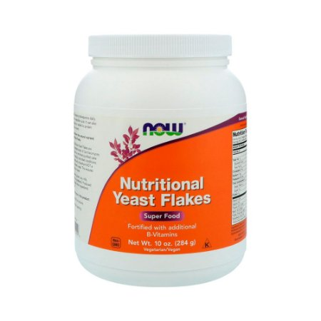 Levedura Nutricional – Nutritional Yeast Flakes - NOW