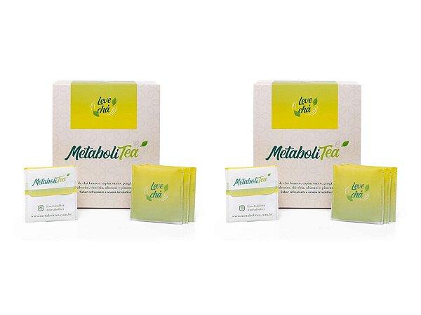 Kit 2x Metabolitea Chá 60 Sachês - Leve Chá