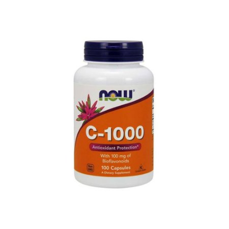 Vitamina C-1000 100 Cápsulas - Now Foods