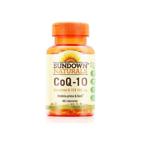 Coenzima Q-10 100mg 40 Cápsulas - Sundown Naturals