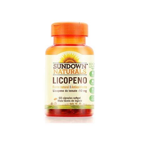 Licopeno 10mg  60 Cápsulas - Sundown Naturals