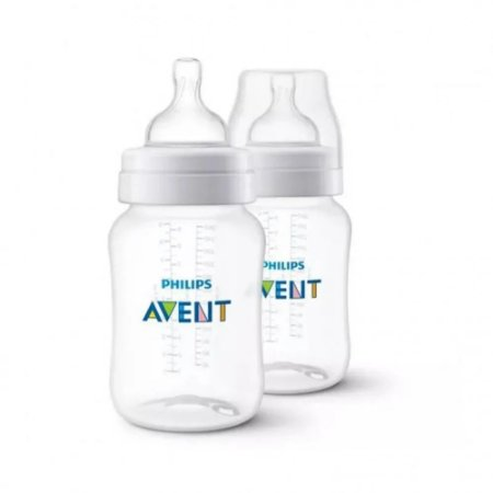 Kit 2 Mamadeiras 260ml Transparente SCF813/27 - Philips AVENT