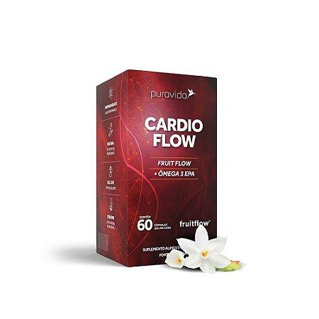 Cardio Flow 1000mg 60 Cápsulas - Puravida