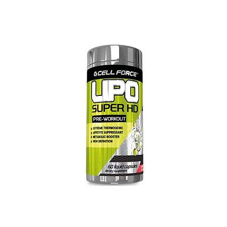 Lipo Super HD 60 Cápsulas - Cell Force